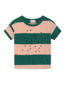 Bobo Choses - Bees Linen T-Shirt, Rose Dust (119015)