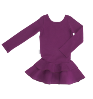 Gugguu - Frill dress, purple