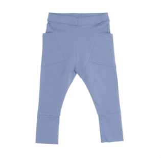 Gugguu - Tricot pants, smokey blue
