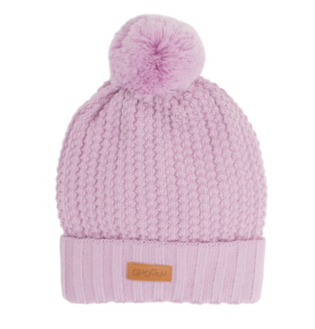 Gugguu - Beanie with one tuft, lilac