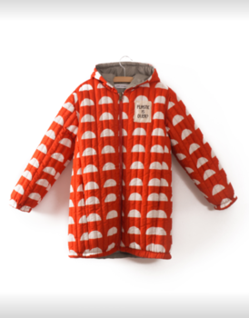 Bobo Choses - Reversible padded anorak, crests