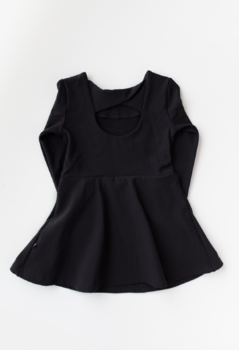 Kaiko - Bow dress, black