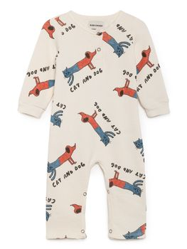 Cats And Dogs Playsuit, High-Rise