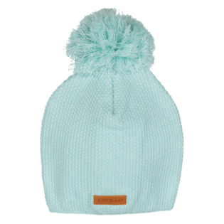 Gugguu - Beanie with one tuft, light mint
