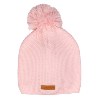 Gugguu - Beanie with one tuft, soft rose