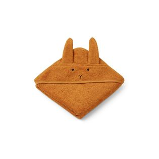 Liewood - ALBERT rabbit towel, mustard