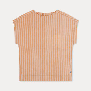 Repose AMS - Woven tee, Rare yellow / gold stripe