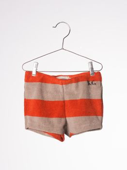 Bobo Choses - Baby Terry Short B.C, red clay