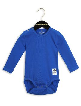 mini rodini - Basic LS body, blue