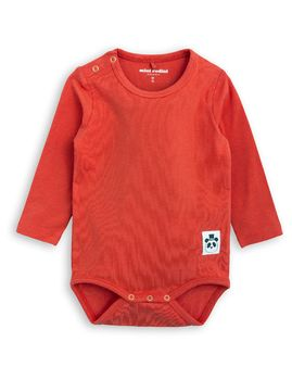 mini rodini - Basic LS body, red