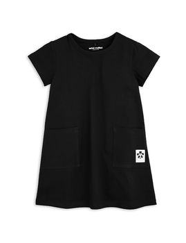 mini rodini - Basic dress, black