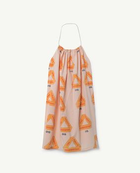 TAO - Butterfly kids dress, rose triangles