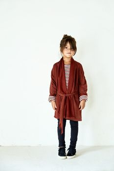 Gray label- Chunky cardigan, burgundy