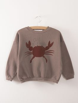 Bobo Choses - Sweatshirt Crab your hands
