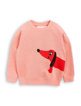 mini rodini - Dog SP sweatshirt, pink