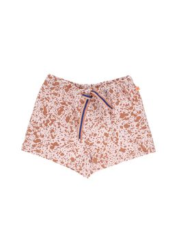 Tinycottons - Enamel shorts, pale pink/dark peach