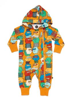 Mainio - Faces hooded jumpsuit