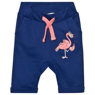 Tao and friends - Flamingo sweatpants, dk blue