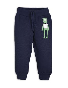 mini rodini - Frog SP sweatpants, navy