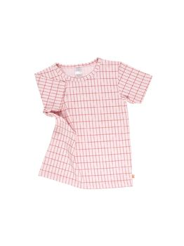 Tinycottons - Grid tee, pale pink
