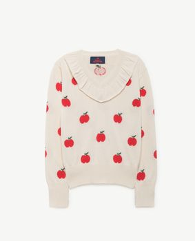 TAO - Horsefly sweater, red apple