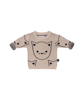 Huxbaby - Hux cat jumper, shell