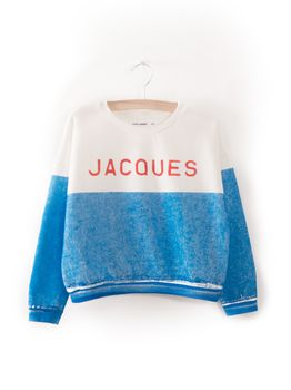 Bobo Choses - Jacques Boat Sweatshirt, nautical