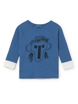 Bobo Choses - 3/4 sleeveT-Shirt Jubilee, blue
