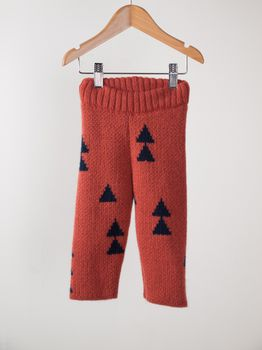 Bobo Choses - Baby knitted trousers woods