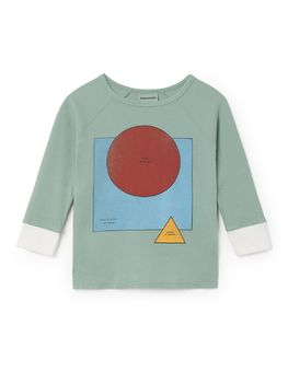 Bobo Choses - 3/4 sleeveT-Shirt Know, green