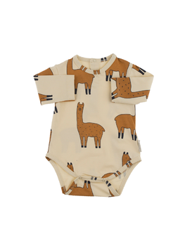 Tinycottons - llamas ls body, beige/nude