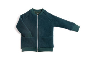 Monkind - Petrol Wool Bomber Jacket