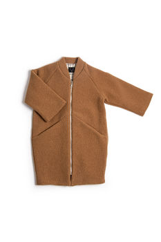 Monkind - Terracotta Wool Coat
