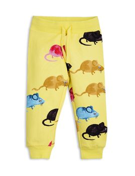 mini rodini - MR mouse sweatpants, yellow