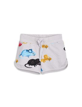 mini rodini - MR mouse sweatshorts, lt grey