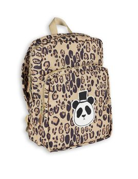 mini rodini - Panda backpack, beige