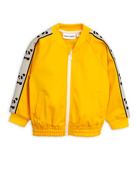 Mini Rodini - Panda wct jacket, Yellow