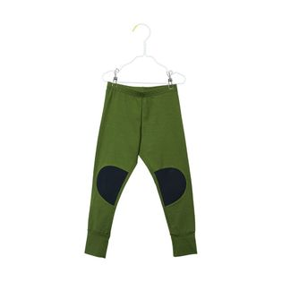 Papu - Patch leggings, forest green