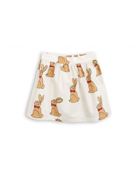 mini rodini - Rabbit woven skirt