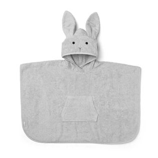 Liewood - Orla rabbit poncho, dumbo grey