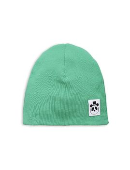 mini rodini - Rib beanie, green