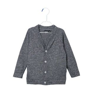 Papu - Snap cardigan, fuzzy grey