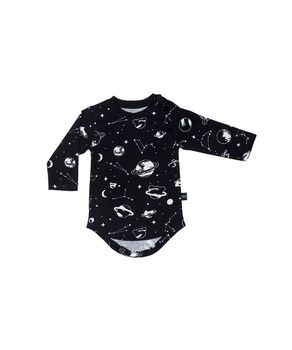 Huxbaby - Space LS tee, black