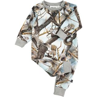 Molo kids - Squirrels playsuit