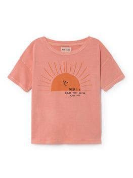 Bobo Choses - Sun Short Sleeve T-Shirt, strawberry
