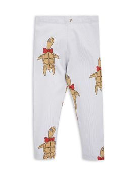 mini rodini - Turtle leggings, grey