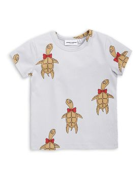 mini rodini - Turtle SS tee, grey