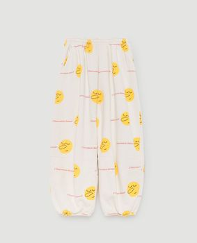 TAO - Dromedary kids pants, yellow faces