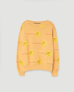 TAO - Bear kids sweatshirt, yellow faces