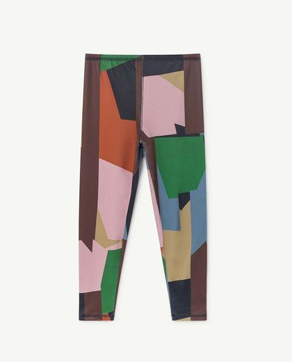 TAO - SEAQUAL ALLIGATOR KIDS LEGGINS, MULTICOLOR